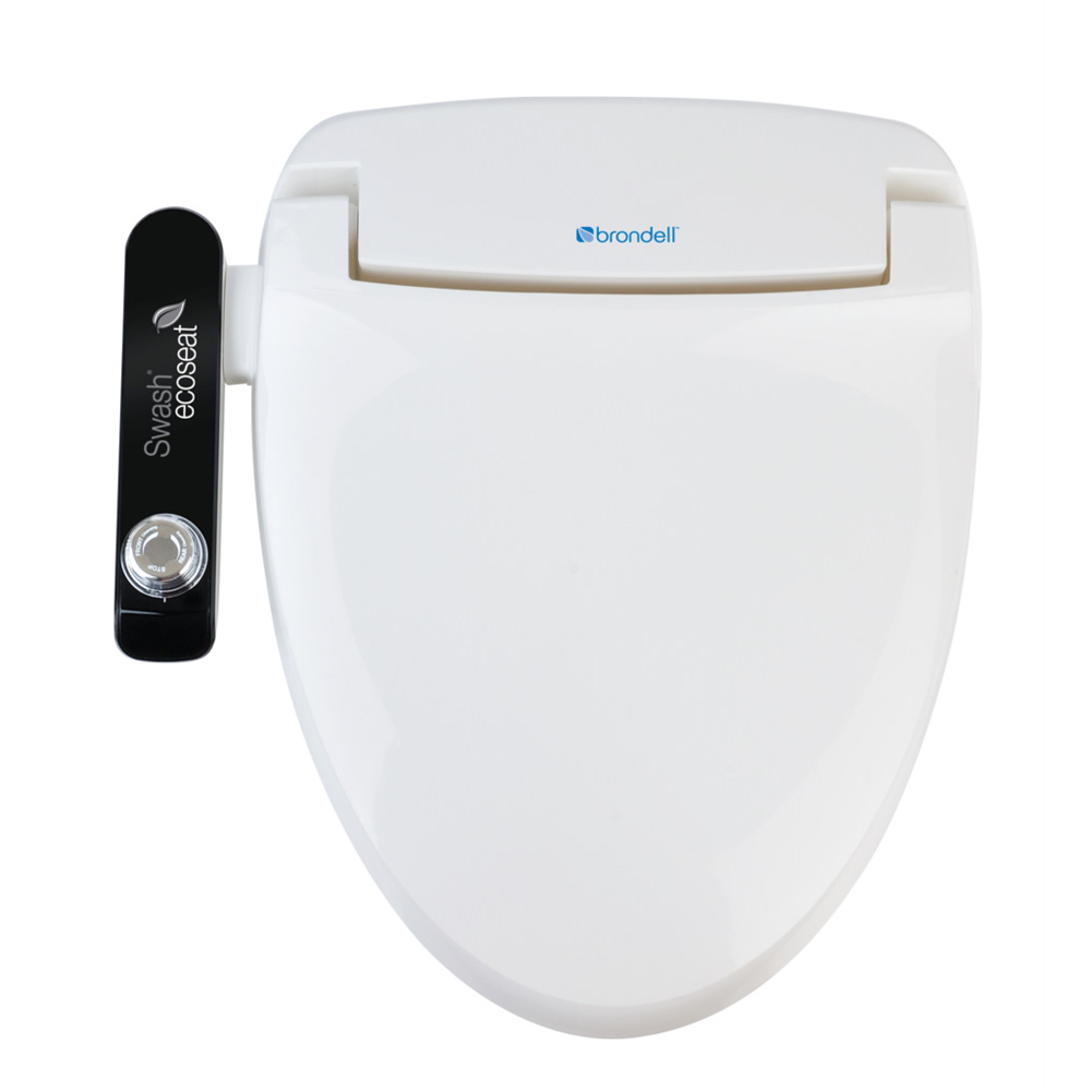Brondell Swash Ecoseat 100 Clear Water Bidets
