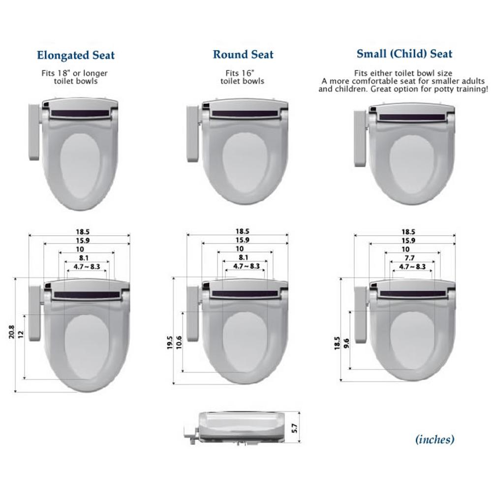Dimensions Of Elongated Toilet BA Bowls DimensionsToilet Bowl