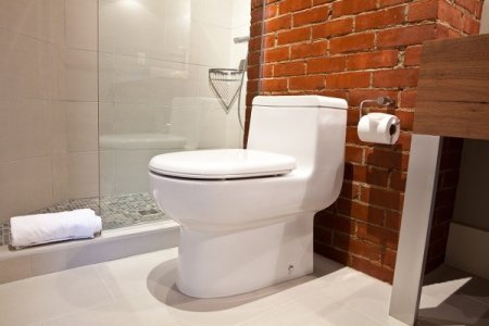 Installed bidet seat
