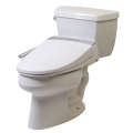 Clear Water Bidets, Novita BG90 side panel bidet toilet seat