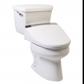 Clear Water Bidets, Novita BH90 mounted on toilet