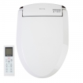 Clear Water Bidets, Blooming NB-R1063 Bidet Seat Top Down Image with Remote