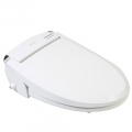 Clear Water Bidets, Blooming NB-R1063 Bidet Seat 3/4 Right Image Image Lid Closed
