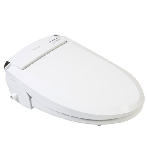 Blooming NB-R1063 Bidet Seat 3/4 Right Image Image Lid Closed
