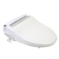 Clear Water Bidets, Infinity XLC-3000 Bidet Seat with lid closed angle view left