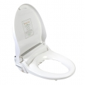 Clear Water Bidets, Infinity XLC-3000 Bidet Seat with lid open angle view left