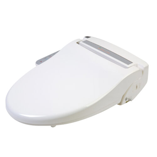 Clear Water Bidets, Infinity XLC-2000 Bidet Seat with lid closed angle view left