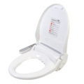 Clear Water Bidets, Infinity XLC-2000 Bidet Seat with lid open angle view right