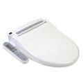 Clear Water Bidets, Infinity XLC-2000 Bidet Seat with lid closed angled view