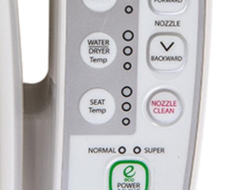 Novita BN330 bidet doesn't self clean when sat upon